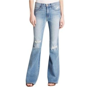 Current Elliot The Girl Crush distressed flares 28